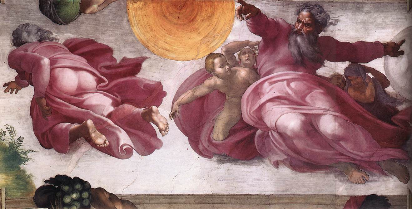 Michelangelo Sistine Chapel Creation